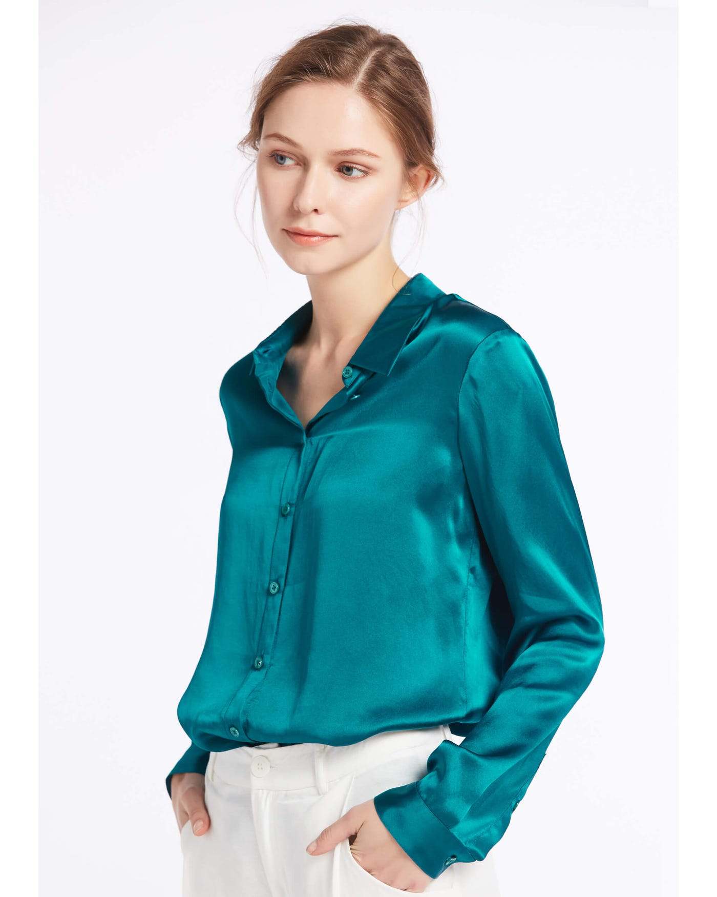 using Silk Shirt